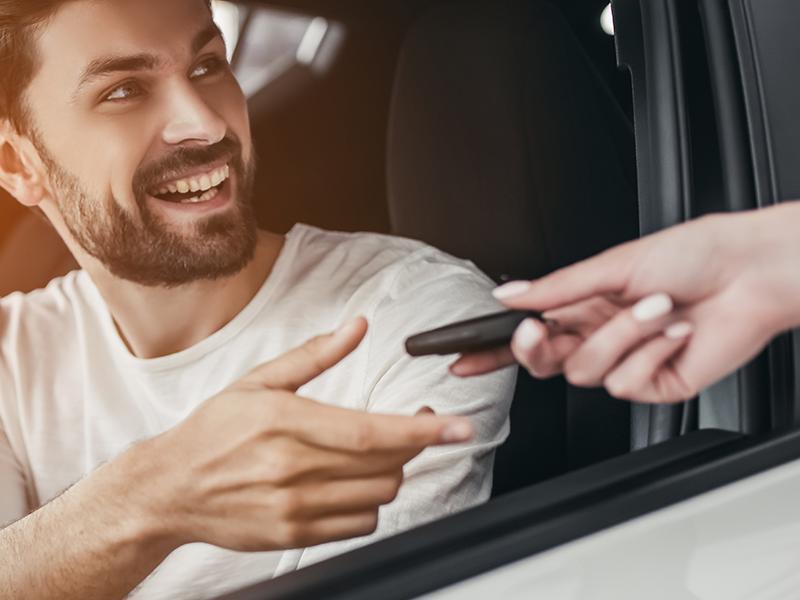 Nyckelförsäkring vid tappad förlorad bilnyckel